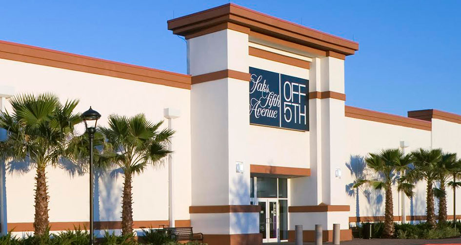 Saks off 5th at St. Augustine Outlets - FFO Real Estate Advisors